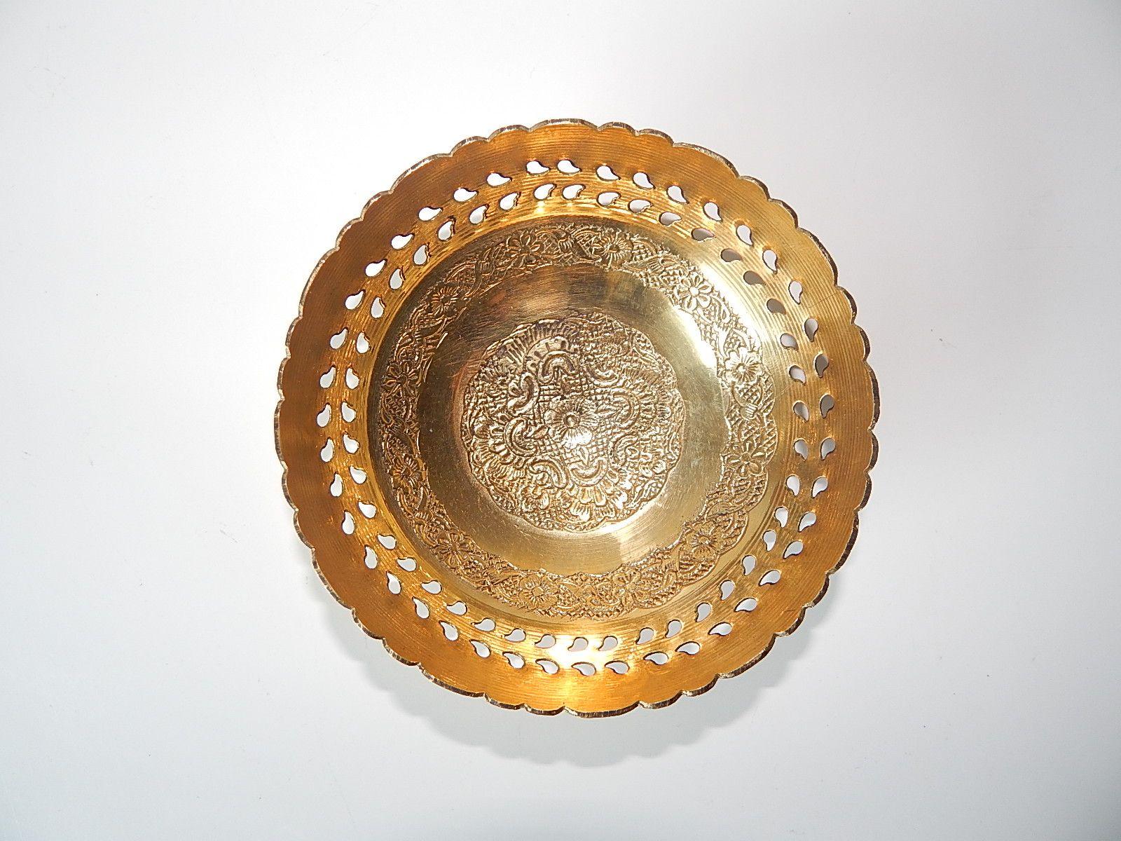 Ambika Brass Bowls Set Of 4 Chairish