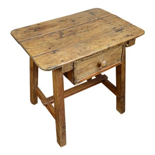 19th Century Spanish Pine Low Table