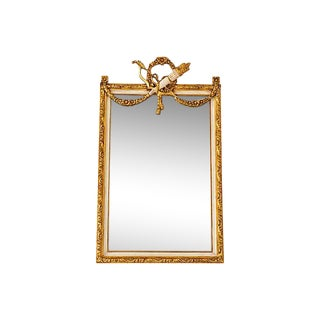 French Louis XVI Style Beveled Mirror