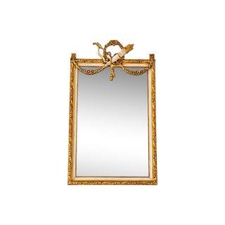 French Louis XVI Style Beveled Mirror