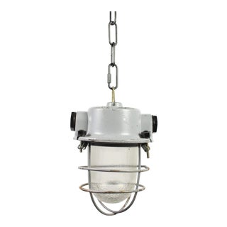 Soviet Era Industrial Pendant Light