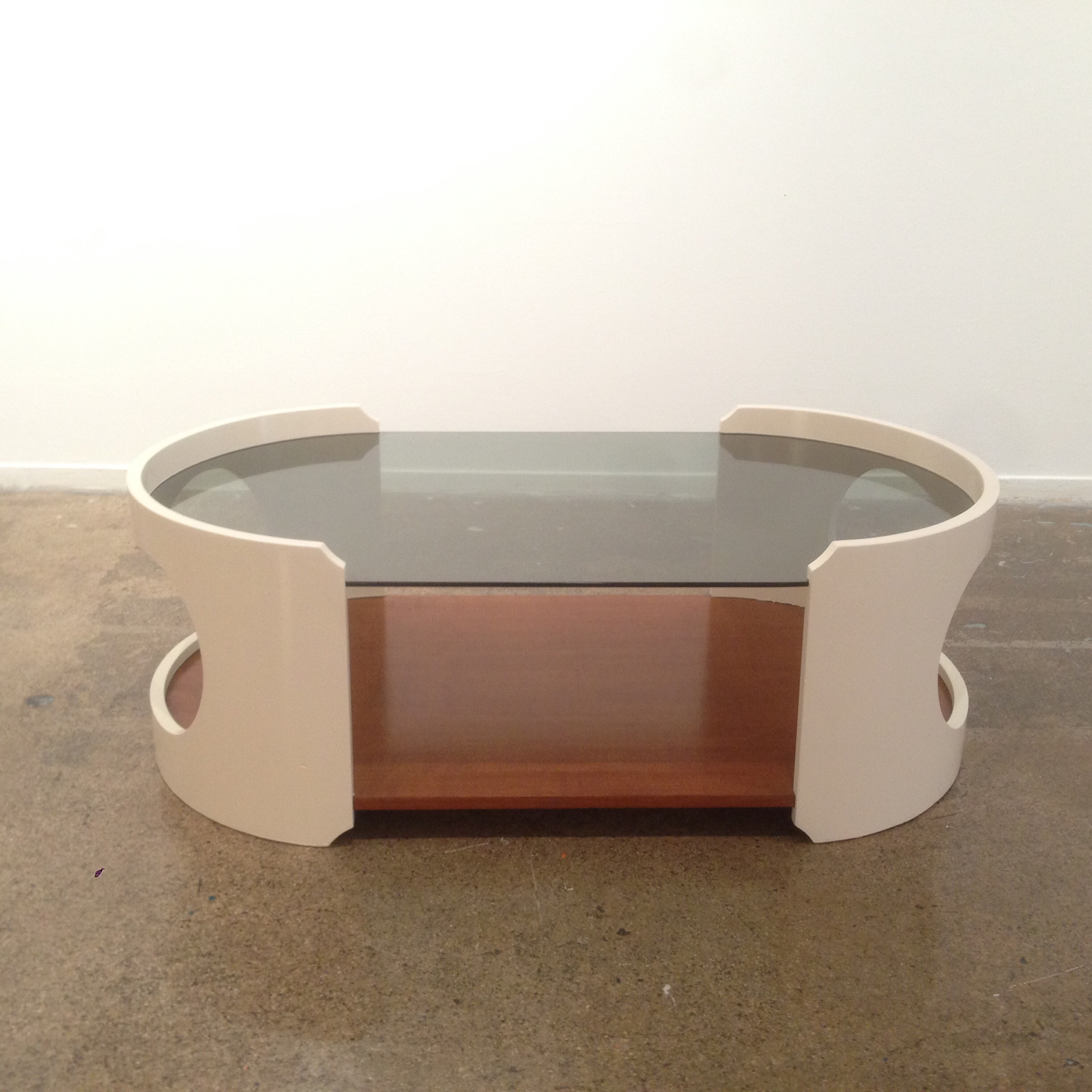 Italian Mod Joe Colombo Style Coffee Table   Image 3 Of 9