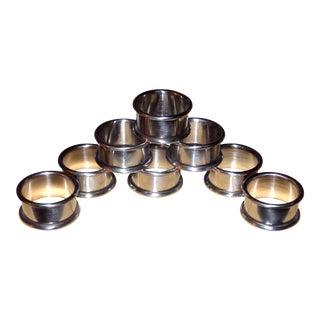 Provincetown Pewterlite Napkin Rings - Set of 8