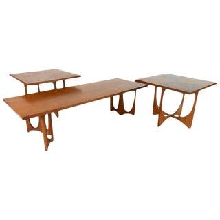 Broyhill Brasilia Mid-Century Tables - Set of 3