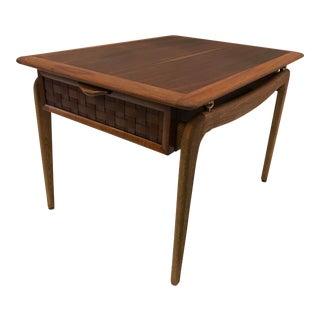 Lane Mid-Century Modern Perception Side Table