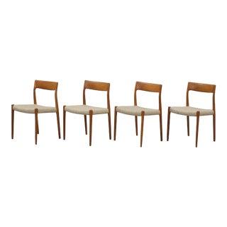 Møller Model 77 Side Chairs - Set of 4