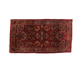 "Leon Banilivi Antique Persian Sarouk Rug - 3'1"" x 5'8"""