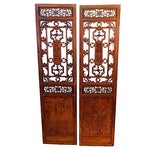 Image of Antique Chinese Doors - A Pair