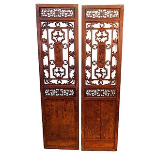 Antique Chinese Doors - A Pair
