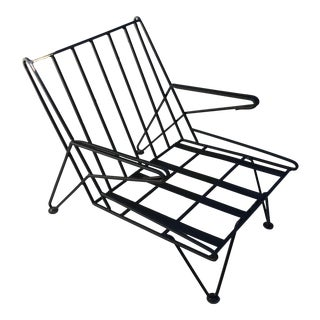 1950's Iron Chair in the Style of Billy Haines