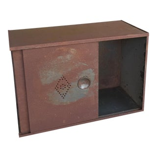 Industrial Chic Metal Cabinet