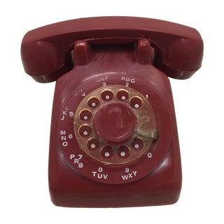 Red Telephone Salesman's Sample