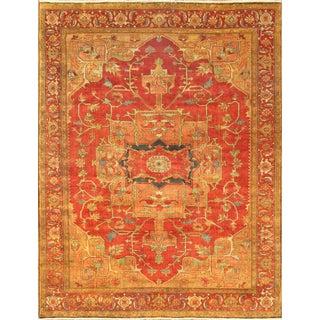 """Pasargad Serapi Lamb's Wool Area Rug- 9' 8"""" x 10' 3"""""""