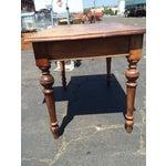 Image of Rustic Wood Desk