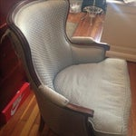 Image of Vintage Light Blue Chair