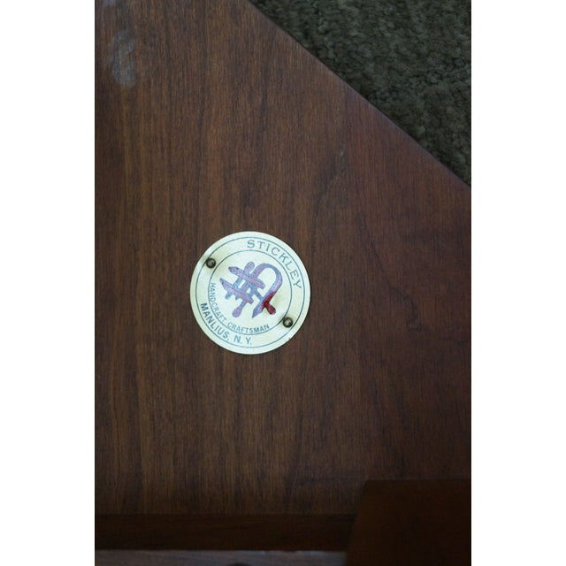 Stickley Mission Style Cherry Side Table (A) - Image 6 of 10