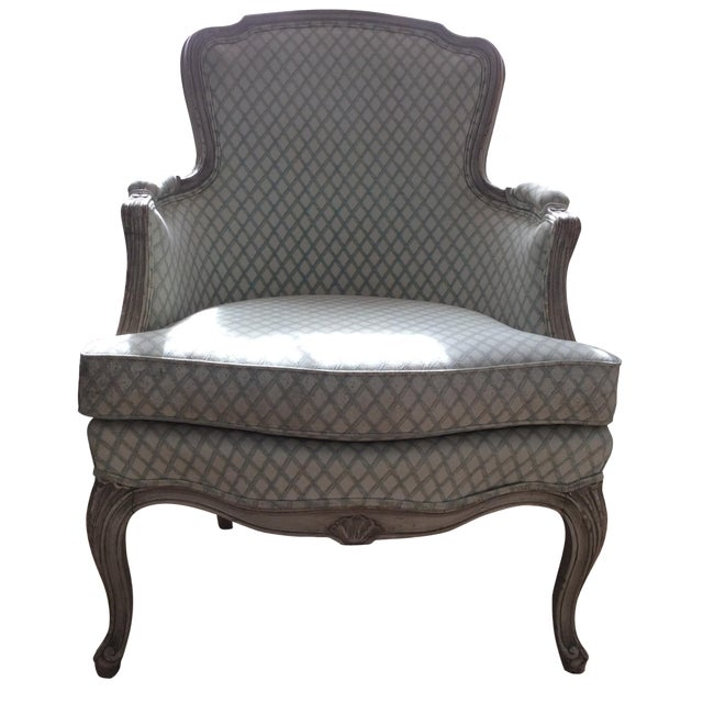 Vintage Louis XVI Bergere Style Chair - Image 1 of 7