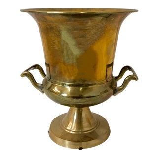 LaBarge Attributed Brass Champagne / Wine Bucket