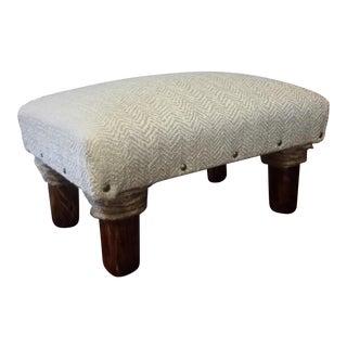 Handmade Upholstered Footstool