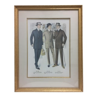 Framed Antique Clothing Line Print, 5 of 14