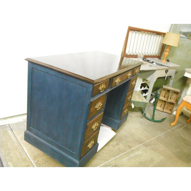 Antique Painted Federal Style Desk - Image 2 of 11