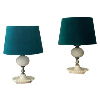 Antique Table Lamps - A Pair