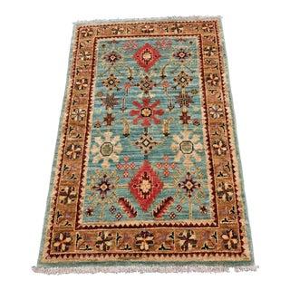 """Vintage Inspired Afghani - 2'7"""" x 4'1"""""""