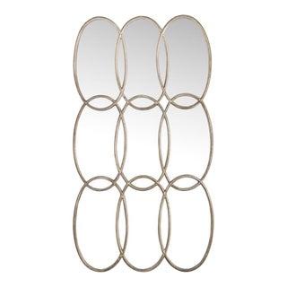 Contemporary Oversized Circles Mirror