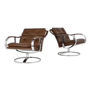 Garner Leaver for Steelcase Lounge Chairs - a Pair