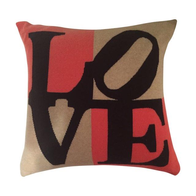 Rani Arabella Love Square Pillow - Image 1 of 3