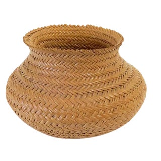 Small Woven Tribal Bowl