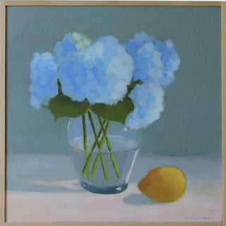 Hydrangea with Lemon By Anne Carrozza Remick