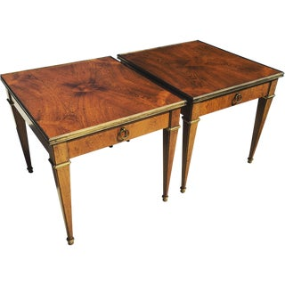 Mid-Century Baker End Tables - A Pair