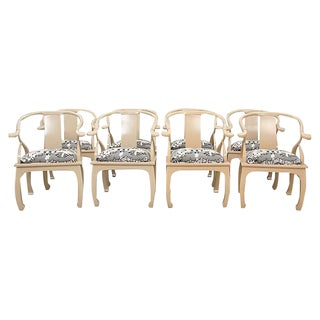 Ming Style Tsu Dining Chairs - Set of 8