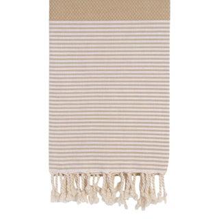 Beige Turkish Towel