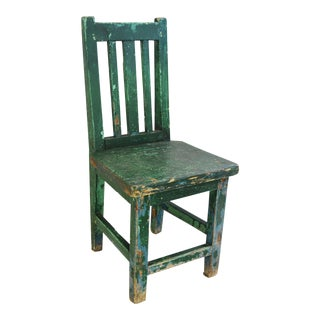 Early 1900s Primitive Country Child's Chair
