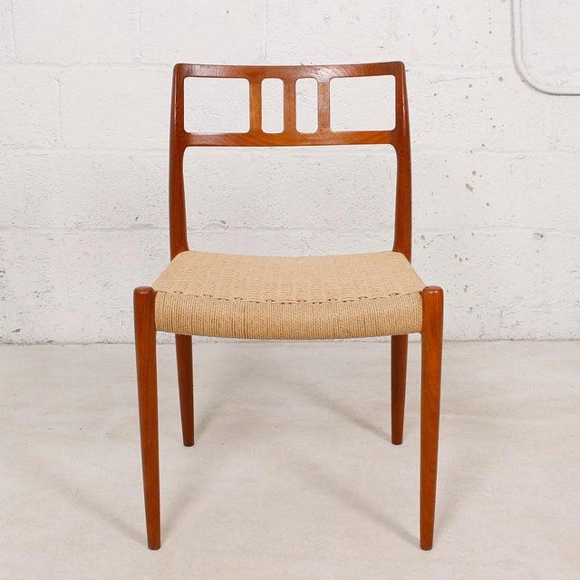 Danish Modern Teak Niels Moller #79 Chairs - S/6 - Image 3 of 7
