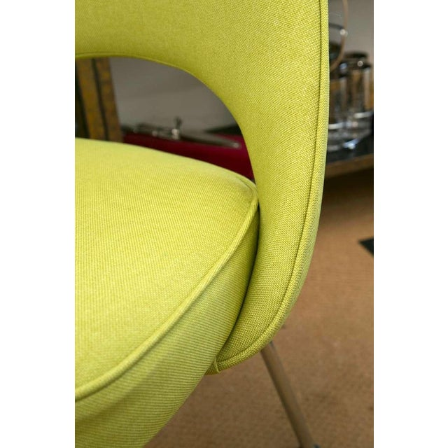 Saarinen Executive Side Chair, Honey Dew Green - Image 8 of 8