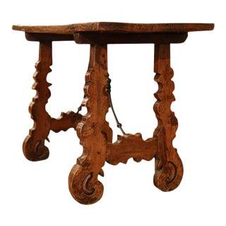 Mid-18th Century Spanish Walnut Table