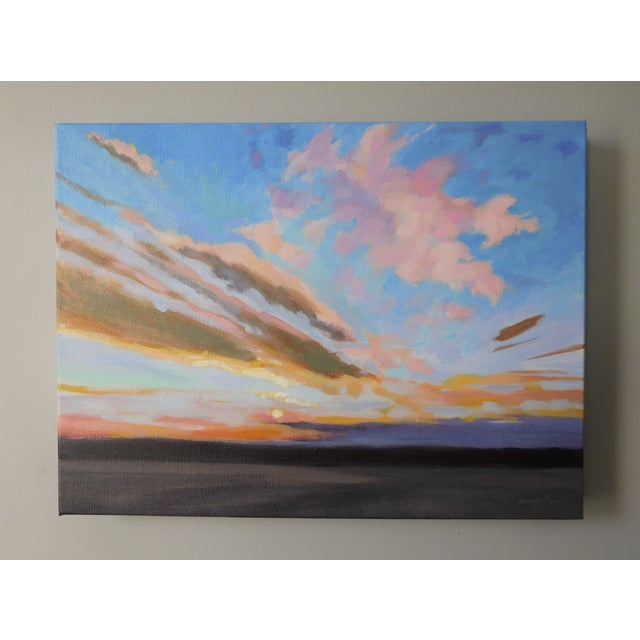 """Sunrise"" Original Painting A.Carrozza Remick - Image 4 of 7"