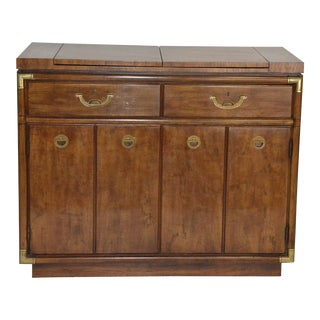 Drexel Heritage Sideboard or Buffet on Rollers