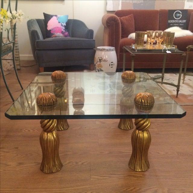 Image of Phyllis Morris Tassel Cocktail Table
