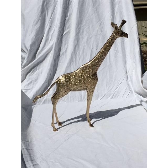 Image of Brass Giraffe - Large
