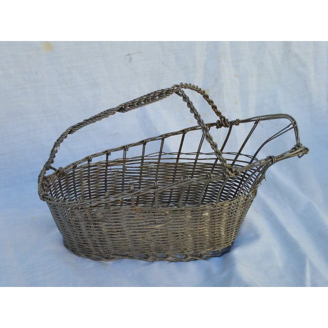 Image of French Silver Basket Wine Pourer