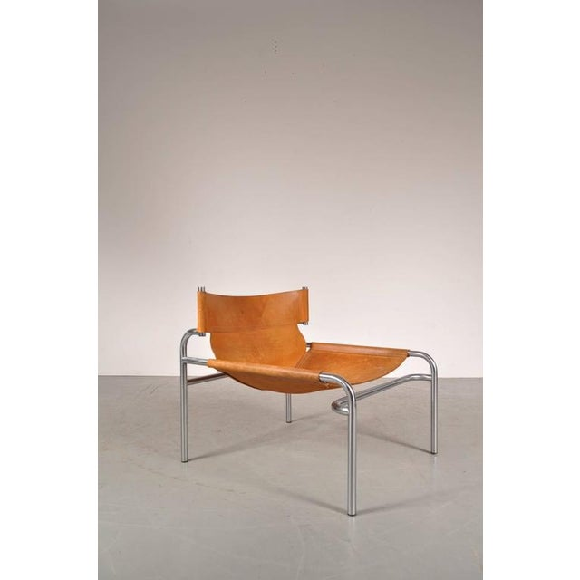 "Lounge Chair ""sz12"" by Walter Antonis for Spectrum, Netherlands, circa 1970 - Image 2 of 9"