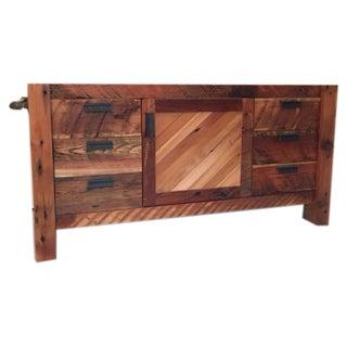 Reclaimed Wood Single-Sink Vanity or Console