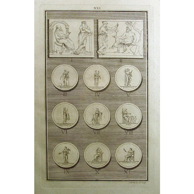 1755 Engraving Roman Medallions - Image 3 of 6