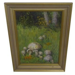 """""""Mushrooms in a Field"""" by F. McCloud"""