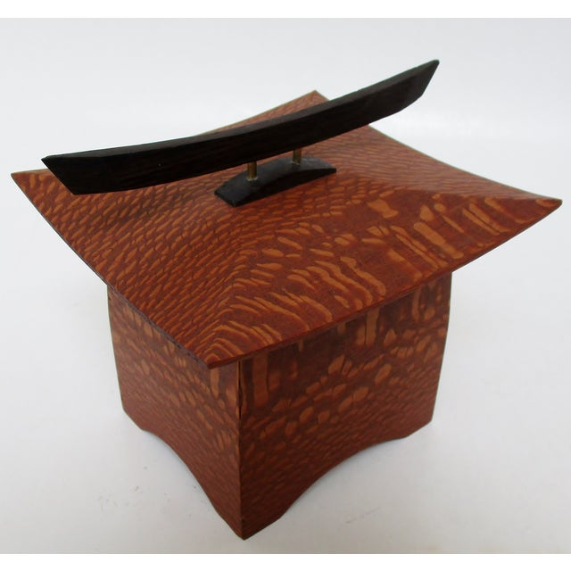 Japanese Maple Pagoda Box - Image 6 of 8