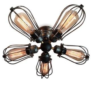 Vintage Industrial 5 Lights Ceiling Light